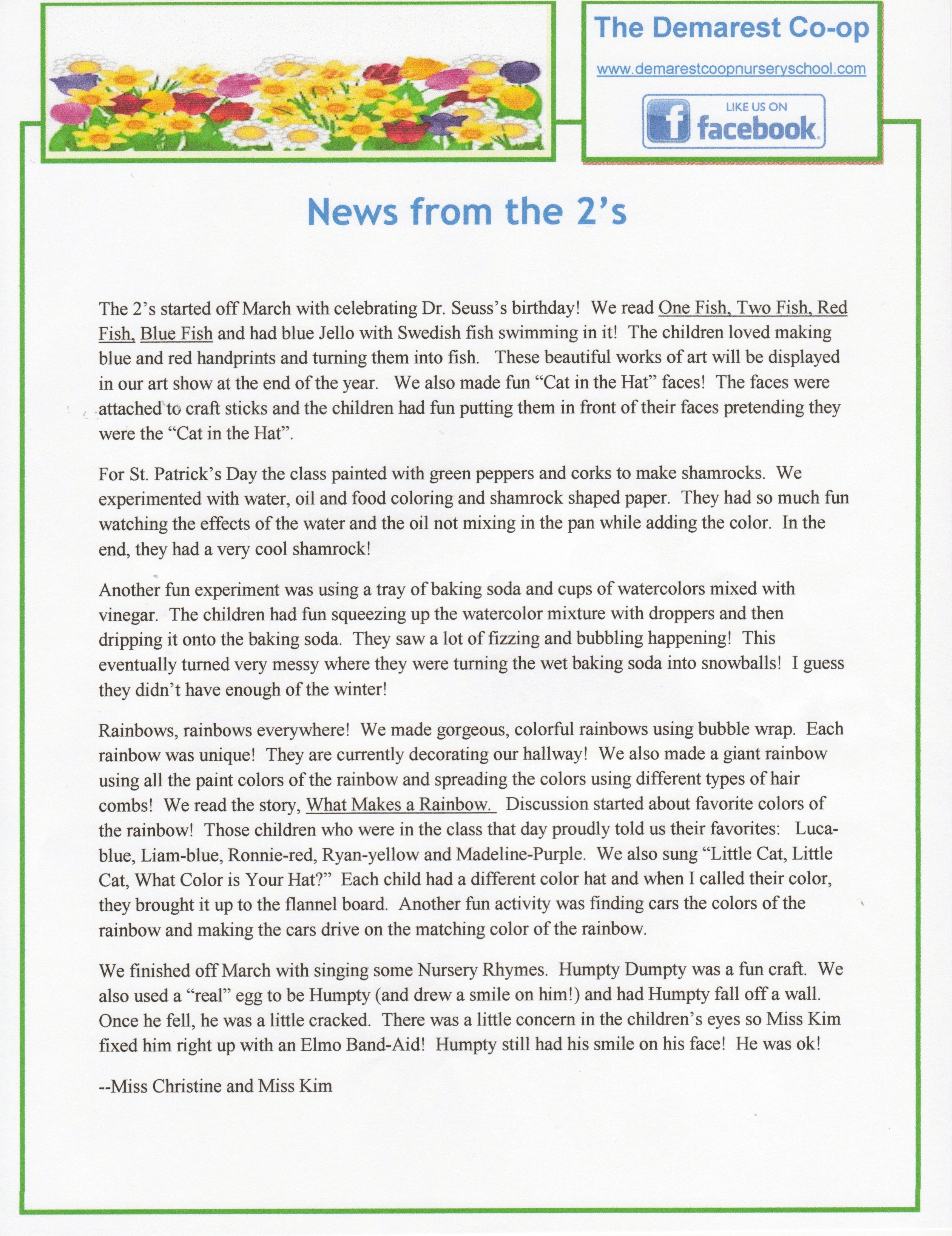 April 2014 Newsletter pg.2
